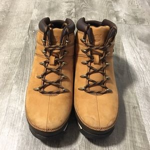 Timberland Brown Suede Hiking Boots Boys Size 6.5